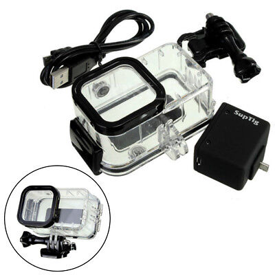 For GoPro Hero 5/4 Session Backpac External Battery +Waterproof Housing Case New
