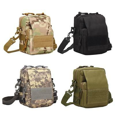 Military Travel Small Shoulder Crossbody Pack Waterproof Outdoor Waist Bag A#S