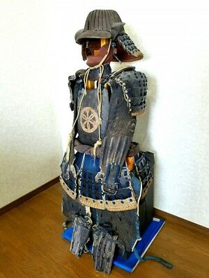 Japanese Antique Adult life-size Armor and Helmet Edo period Free shipping