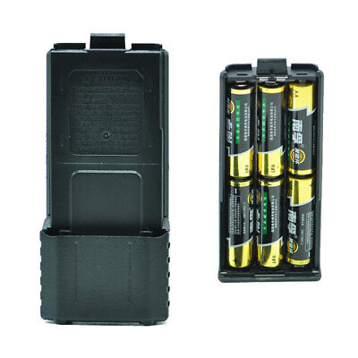 For Baofeng UV-5R 6xAA Battery Case Walkie Talkie Shell for Portable Two-WayF2S9