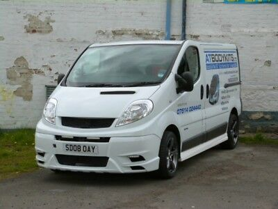 Renault Trafic Front Bumper Look New