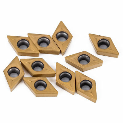 10x DCMT070204 US735 DCMT21.51 Carbide Insert For Lathe Cutter Turning Tool