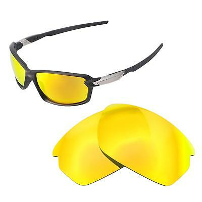 83a6c0c4925 Walleva 24K Gold Polarized Replacement Lenses For Oakley Carbon Shift  Sunglasses