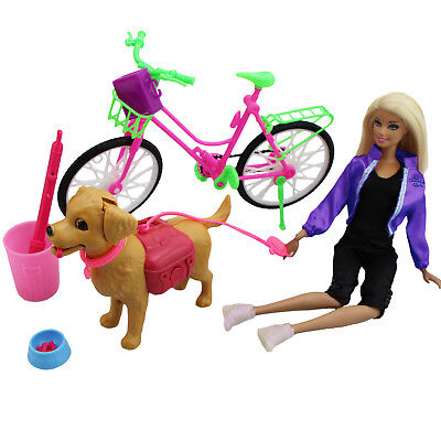 Bike Bicycle / Pet Dog / Sport Outfit Accessories Clothes For Barbie Doll Gift H