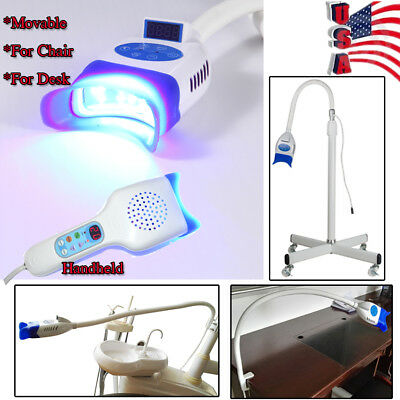 Cool Light LED Teeth Whitening Accelerator Whitener Dental Bleaching Whitner USA