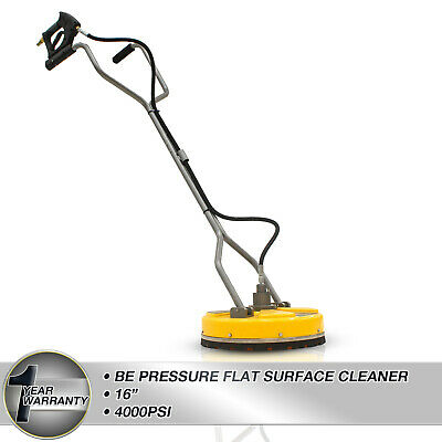 """BE Pressure Washer 16"""" Flat Rotary Surface Cleaner Plastic Heavy Duty Whirlaway"""