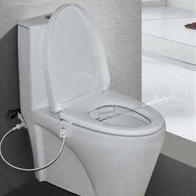 Non-Electric Bidet Spray Bathroom Toilet Seat Attachment Cold Water Wash Cleaner