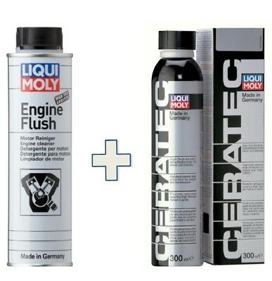 Kit Additivi Liquimoly X Cambio Olio - Lm 2678 Engine Flush  + Lm3271 Ceratec