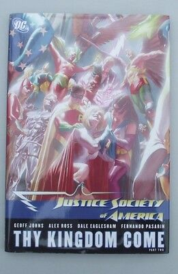 JUSTICE SOCIETY OF AMERICA THY KINGDOM COME PART 2 HC GN ..NM-...2008..Bargain!