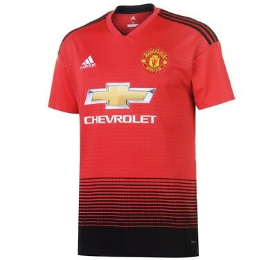 Manchester United Home 2018/19 New Season Adult Football Shirt Uk Stock