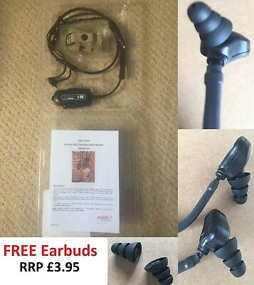 Foam Ear Buds Tips to Fit Racal Frontier 1000 RA5500 Radio Headset Earbud RED