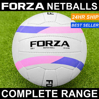 FORZA Match Netball | Pack of 1, 3 or 10 | Super Durable – All Conditions