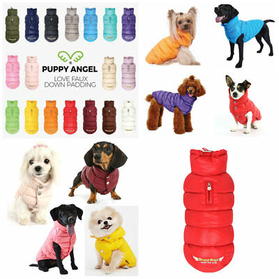 Puppy Angel Waterproof Padded Dog Jacket Vest Winter Coat French Bulldog XS - XL