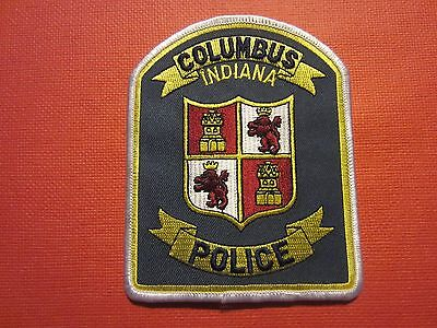 Collectible Indiana Police Patch Columbus New