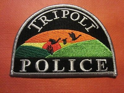 Collectible Iowa Police Patch, Tripoli, New