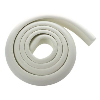 5X(Childproof Edge Corner Guard Cushion Length 2M Included Adhesive (White) V2W5