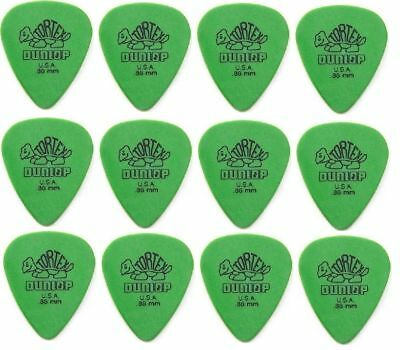 Jim Dunlop Tortex Standard Guitar Picks -  0.88mm -  Pack of 12 Picks