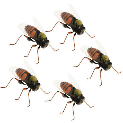 Ant 5Pcs Bug Insect Kid Toy Party Display Model Figure Trick Play