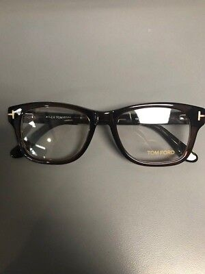 Brand New 100% Authentic Tom Ford Tf5147 050 Brown Eyeglass/Sunglass