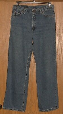 Womens Vintage Levi's 966 Wide Leg High Rise Jeans Size 12 Med !! Made In Usa !!