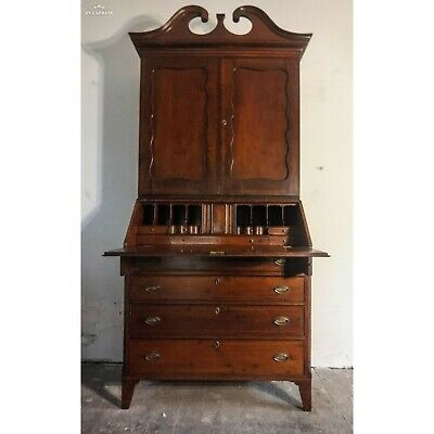 Antique Federal Period Hepplewhite Secretary Desk