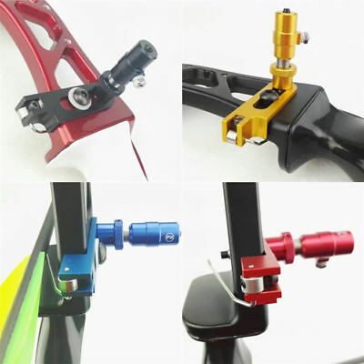 Arrow Rest + Cushion Plunger Pressure Set Recurve Bow Magnetic Takedown Archery