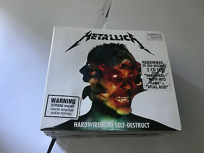 Metallica Hardwired...to Self-Destruct 2Cd Set 602557156263