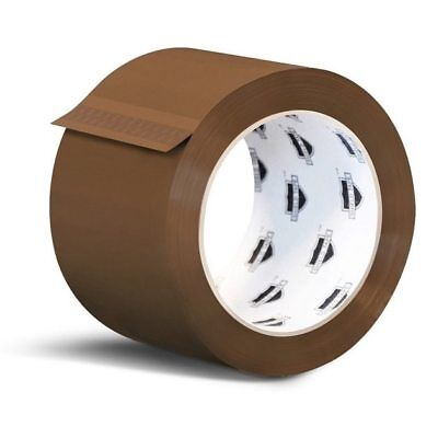 48 Rolls 3-inch x 110 Yards Tan Color Packing Tapes 2 Mil Shipping Tape (2