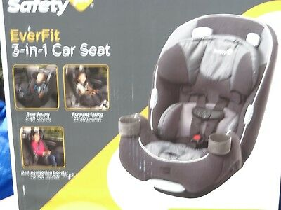 Safety 1st EverFit 3 In 1 Convertible Car Seat Booster Grows With