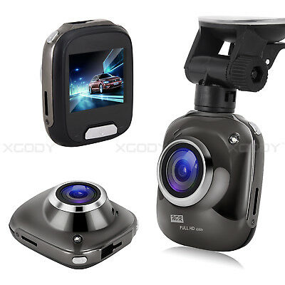 XGODY 2''Full HD 1080P Dual Lens Car Vehicle Dashboard DVR Dash Cam Video Camera