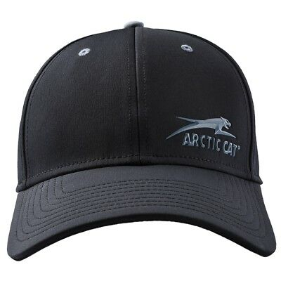 Arctic Cat Aircat Black Performance Fitted Polyester Cap - 5273-054 5273-055