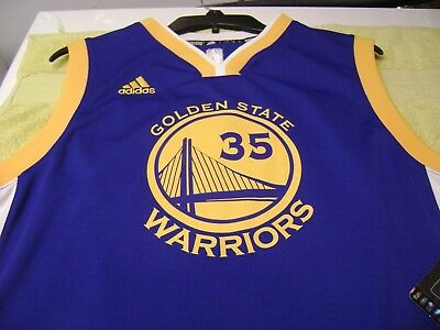 1b804cc84b9 KEVIN DURANT GOLDEN State Warriors Youth Jersey Size Small Medium ...