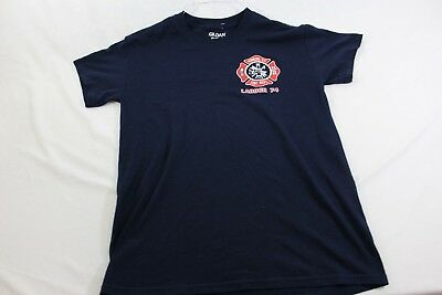 Yonkers Fire Department NY Ladder 74 Small blue T shirt