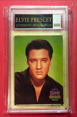 Elvis Presley-Authentic Memorabilia PIECE OF THE KING'S HAIR ((AMAZING FIND))