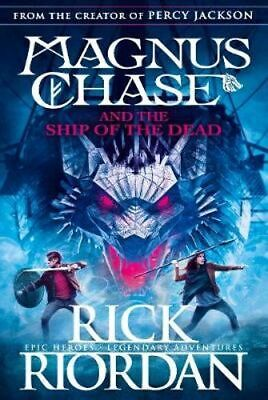 NEW Magnus Chase And The Ship Of The Dead By Riordan Rick Paperback
