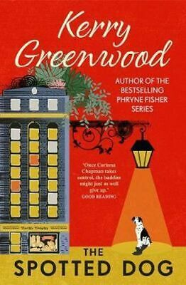 NEW The Spotted Dog By Kerry Greenwood Paperback Free Shipping