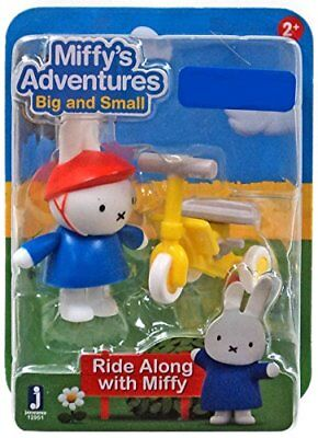 Miffy's Adventures Miffy Ride Along Toy Figure Tricycle Toddler Kids Set Bike