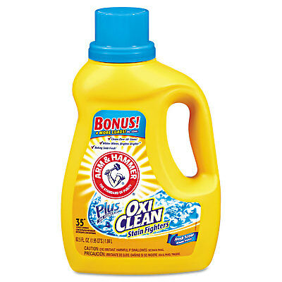 Arm & Hammer OxiClean Concentrated Liquid Laundry Detergent Fresh 61.25-ounce