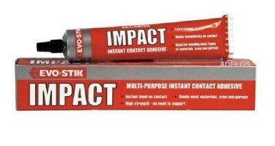 EVO-STICK Impact instant contact adhesive 30g Tube of Multi Purpose Glue