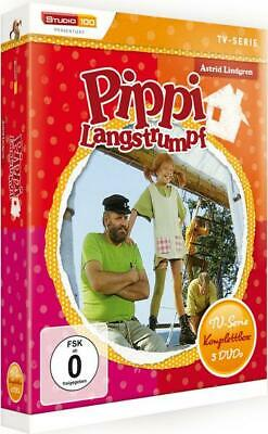 Pippi Langstrumpf  - TV-Serien-Box  [5 DVDs]