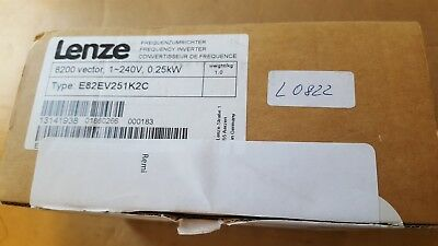 LENZE E82EV251K2C frequency inverter  (BR1.6B3)