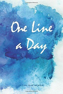 One Line a Day Journal: A Five Year Memoir, 6x9 Lined Diary,... by Daily Journal