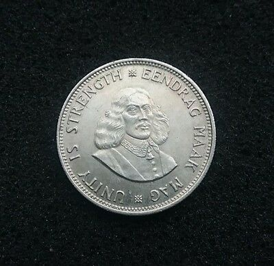 South Africa 1964 Silver 20 cents