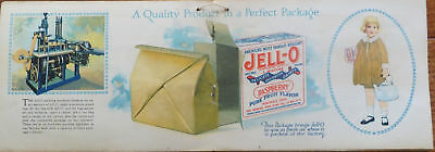 """Vintage Jell-O """"America's... For Hotels, Restaurants And All Institutions"""