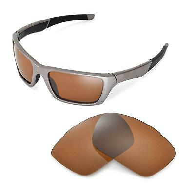 a48209933cce6 New Walleva Brown Polarized Replacement Lenses For Oakley Jury Sunglasses