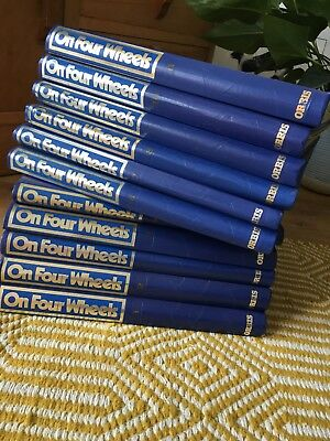 On Four Wheels complete set in book Volumes 1 to 11 Magazine