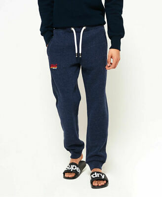 New Mens Superdry Orange Label Cali Joggers Bass Blue Grindle