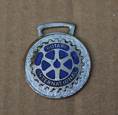 Rotary International Logo Key Watch Fob Made In England Free Shipping