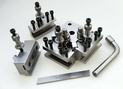 Quick Change Toolpost Compatible with Myford Lathes Made by Soba from Chronos