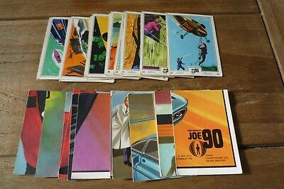 Anglo Joe 90 Cards From 1968 - VGC!! - Pick & Choose The Cards You Need!
